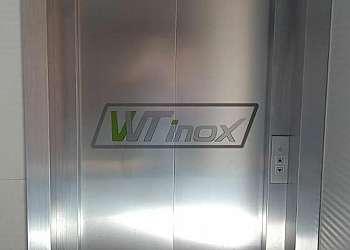 Revestimento de inox para cozinha